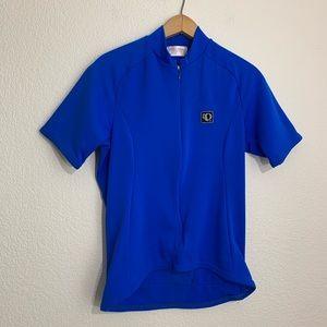 fbdc8b992 Pearl Izumi Cobalt Blue Cycling Shirt Top
